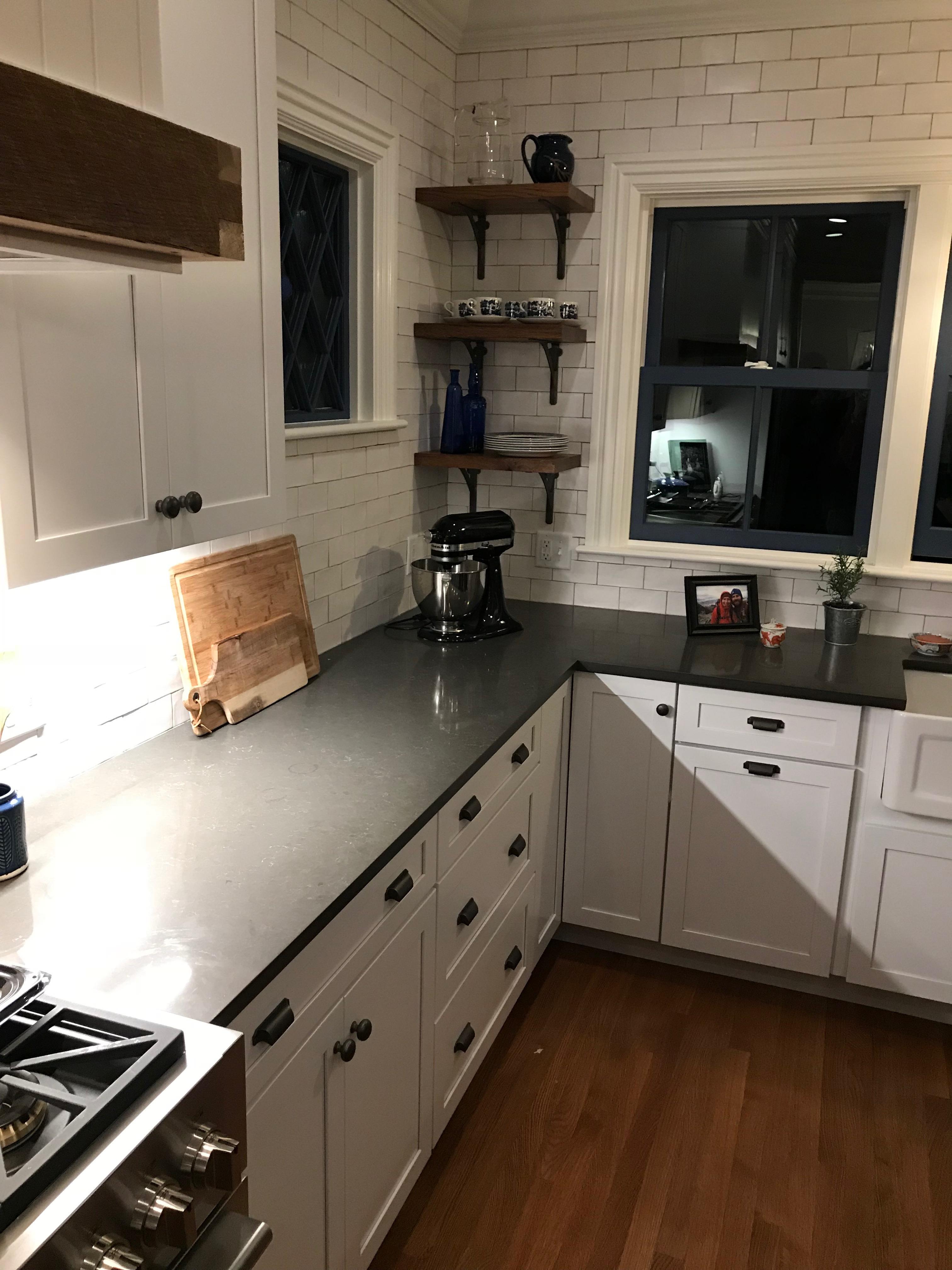 Noble Gray Caesarstone Quartz Countertops